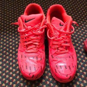 Nike's and Jordan
